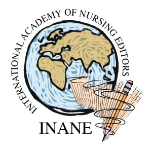 Logo for the International Academy of Nursing Editors