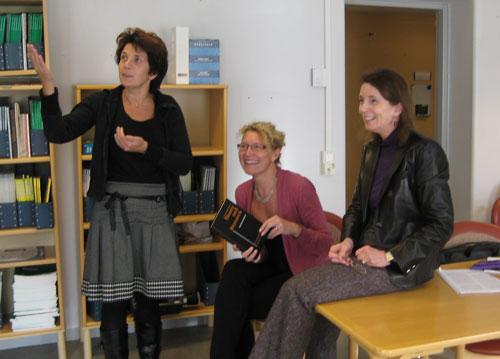 Tiny Jaarsma, Anna Strömberg, Barbara Riegel,