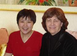 Hong Tao and Carol Ellenbecker