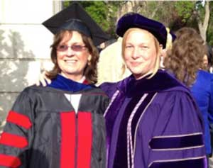 Dr. Somayaji (left) and Dr. Cloyes