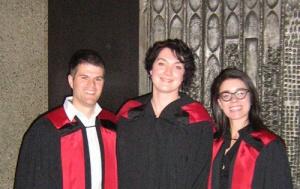 L-R: Jean Daniel Jacob, Jacqueline Shea, Marilou Gagnon